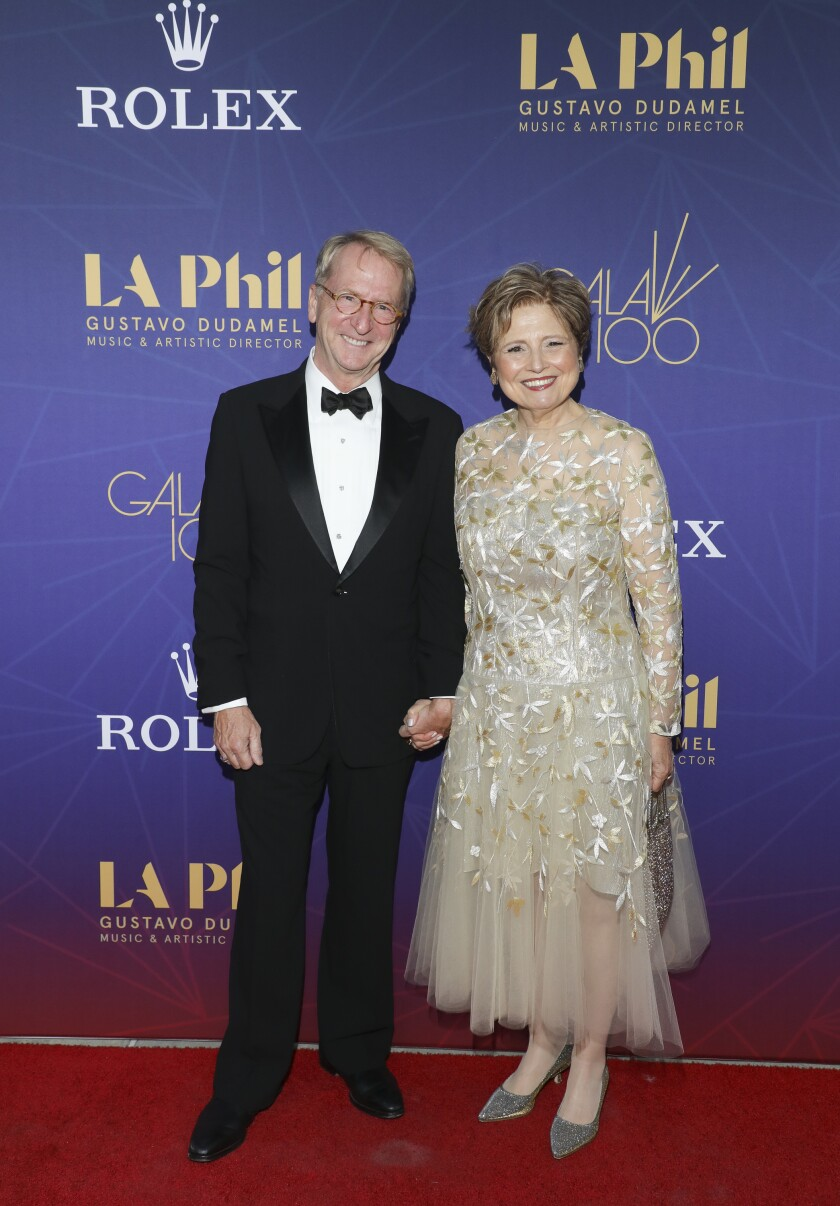 David Bohnett and Deborah Borda.