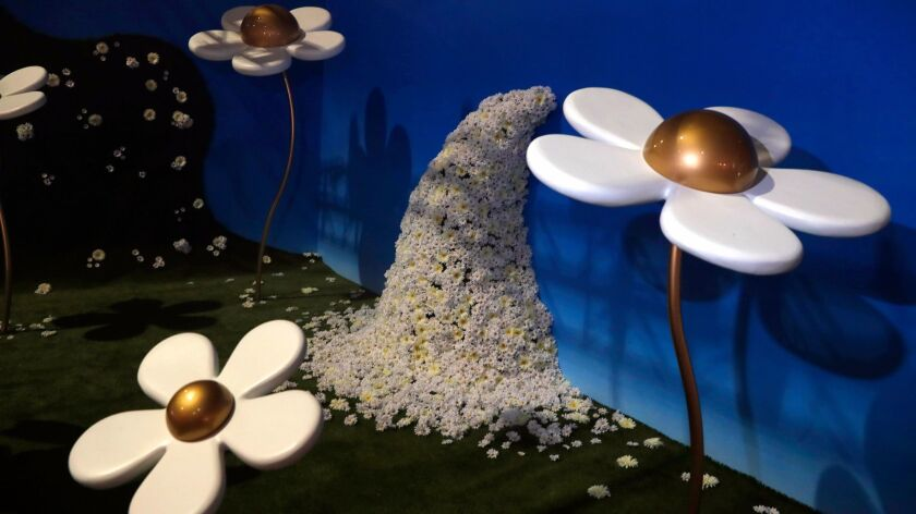 """LOS ANGELES, CA, FRIDAY, DECEMBER 1, 2017 - """"World of Daisy,"""" a surreal floral dreamscape in collabo"""