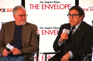 'American Hustle' panel with moderator Glenn Whipp