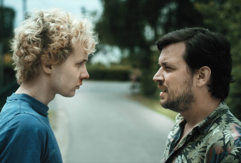 "Tore (Julius Feldmeier) and Benno (Sascha Alexander Gersak ) star in the movie ""Nothing Bad Can Happen."""