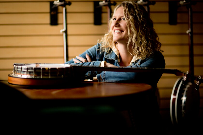 Jamie Deering has been made CEO of Deering Banjos, the Spring Valley-based banjo company that her parents founded in 1974.