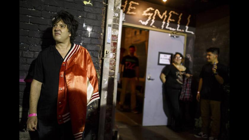 The Smell is located on South Main Street in a part of downtown that is losing grittiness.