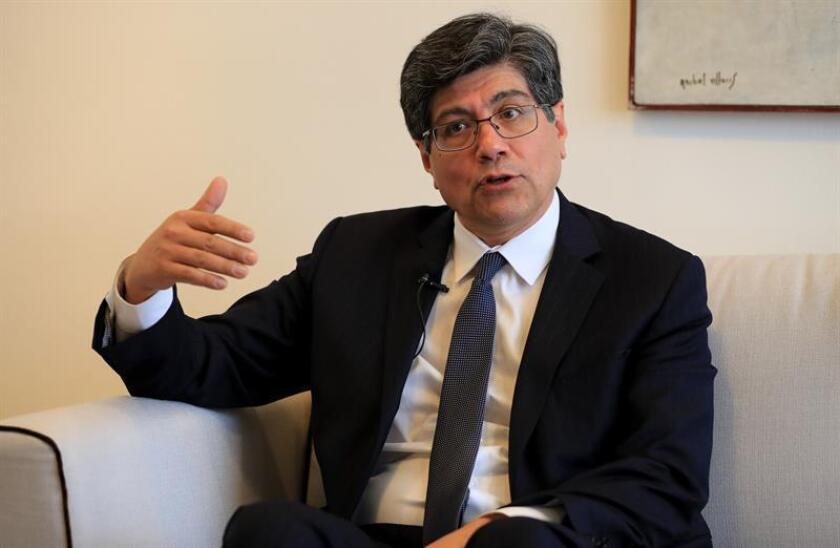 En la imagen, el ministro ecuatoriano de Exteriores, José Valencia. EFE/Archivo