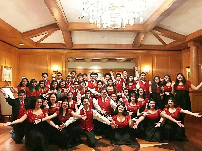 Santa Ana High School Chamber Singers
