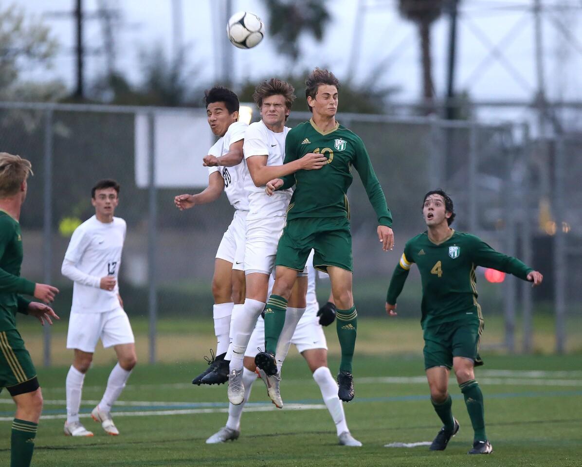 Photo Gallery: Edison vs. Los Angeles Loyola in boys' soccer