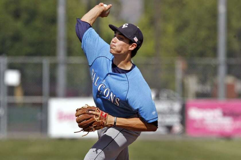 Crescenta Valley baseball's Ted Boeke voted Pacific League's best