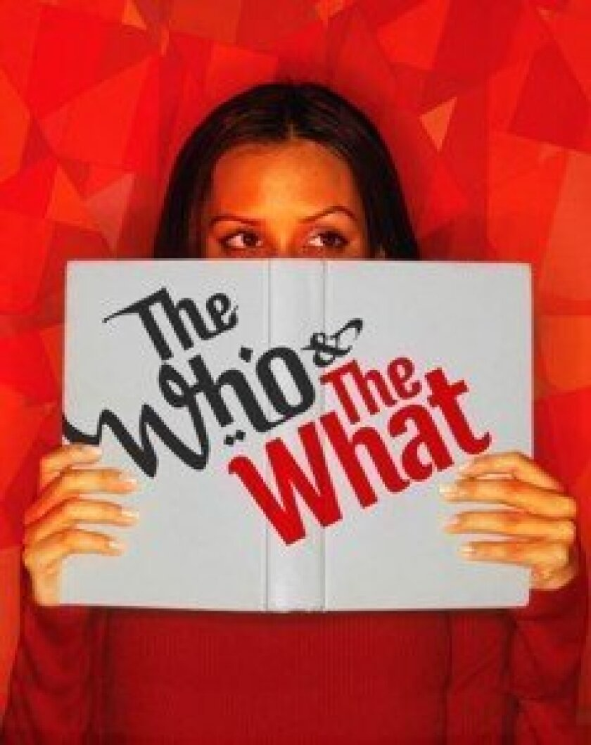 Left: Pulitzer Prize-winning playwright Ayad Akhtar's latest is 'The Who & The What.'