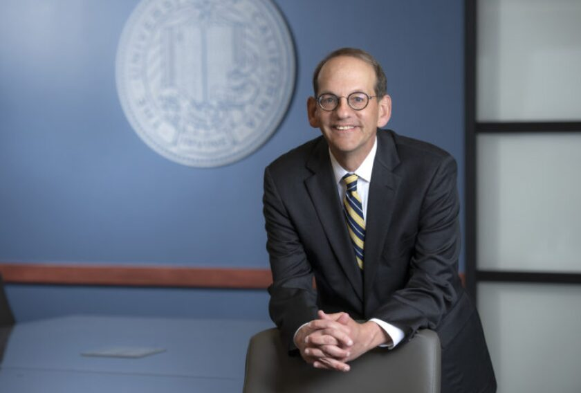 Hal Stern is now the provost and executive vice chancellor of UC Irvine.