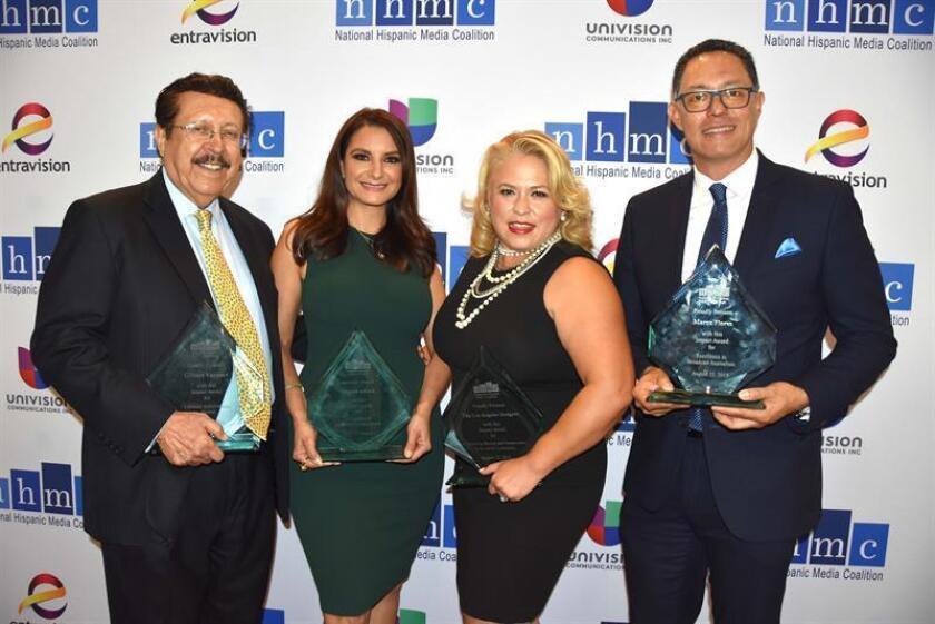 """Premian a Los Dodgers y a líderes hispanos por promover """"cambios positivos"""""""