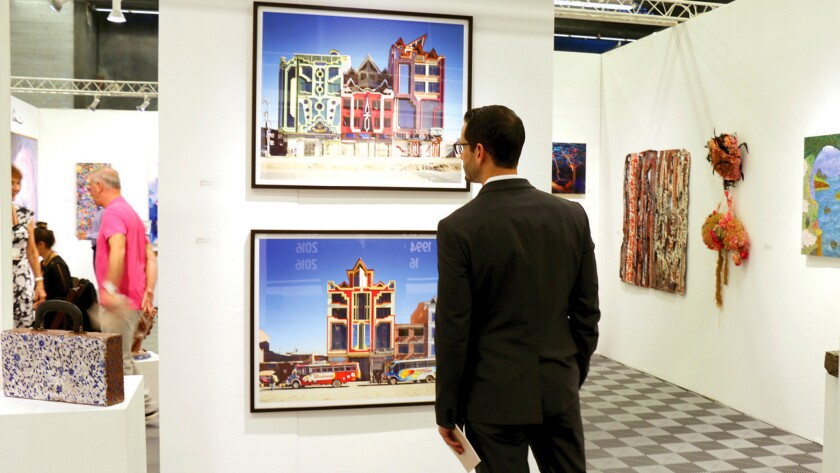A past exhibit at the Art San Diego Contemporary Art Show