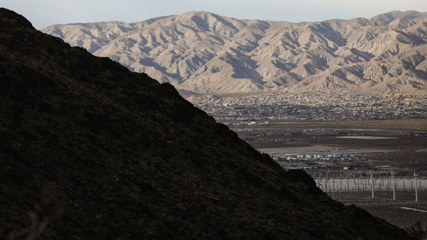 California State Climate Report Shows Rising Average Temperatures In State's Coachella Valley