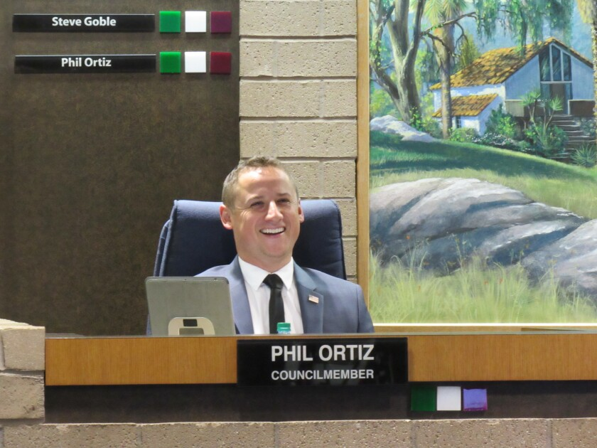 El Cajon City Councilman Phil Ortiz's Go Fund Me campaign to help La Mesa had raised about $125,000 as of Tuesday afternoon.