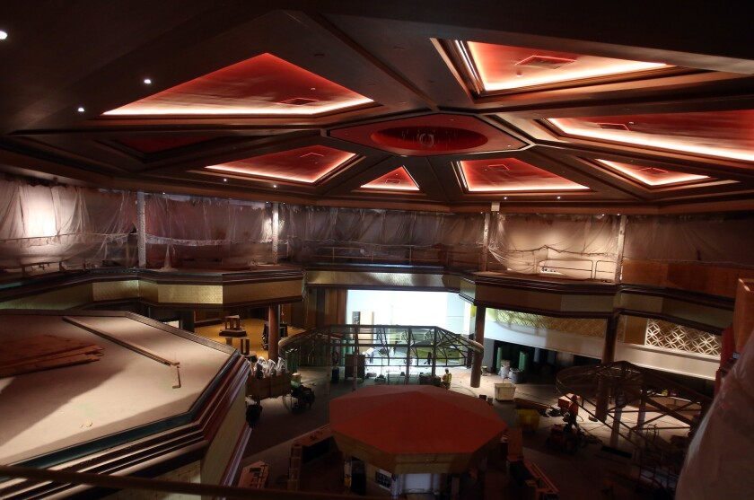 The Lucky Dragon Hotel & Casino is scheduled to open Dec. 3 with a traditional lion dance.