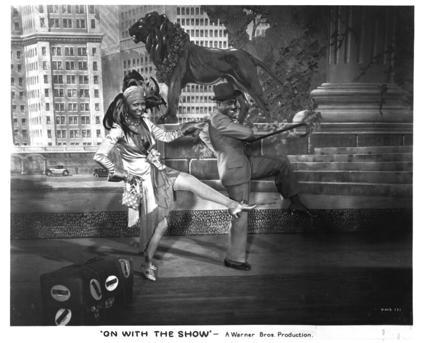 """Ethel Waters sang and danced in the early talkie """"On With the Show!"""" from 1929."""