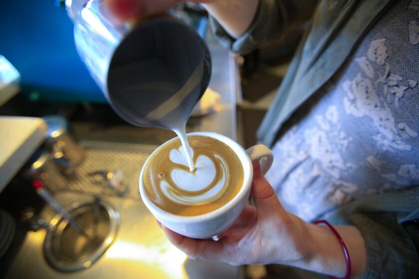 Bird Rock Coffee Roasters latte