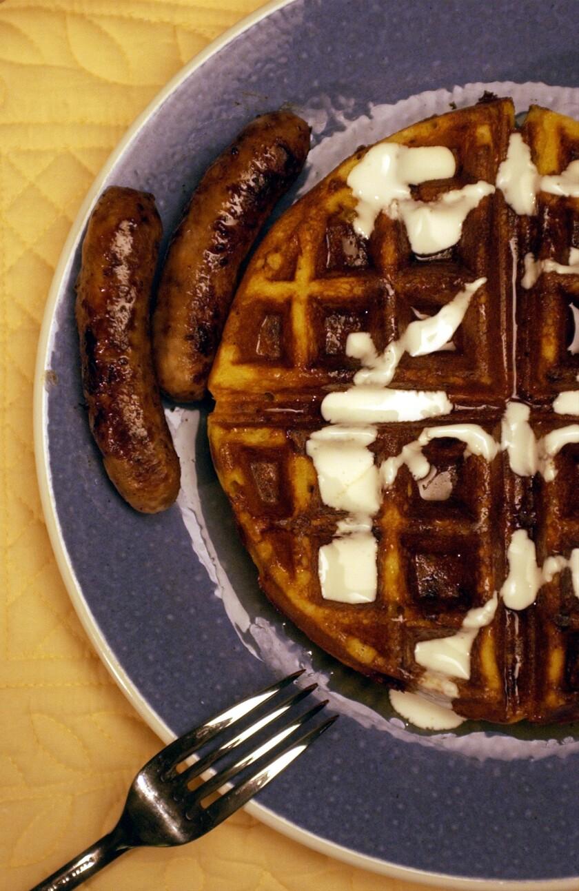 Beatrice De Gea x23332 -- - Waffles. Cornmeal-- Cormeal waffles.