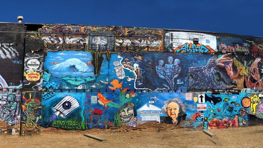 Freak Alley, a Boise landmark, is the largest outdoor mural gallery in the Northwest. Joanne and To