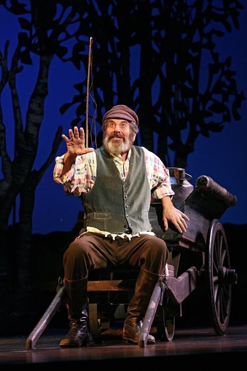 """Topol, the ageless """"Fiddler"""" fixture, credits hard work and good luck for his stage longevity."""