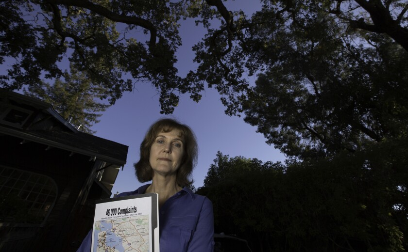 Rachel Kellerman is frustrated by noisy airplanes on a new flight path