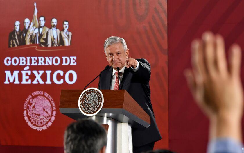 MEXICO-GOVERNMENT-LOPEZ OBRADOR