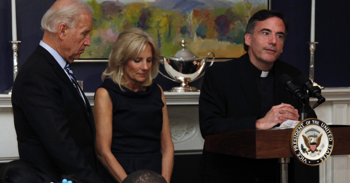 Priest who gave President Biden's inaugural Mass resigns from Santa Clara University after investigation