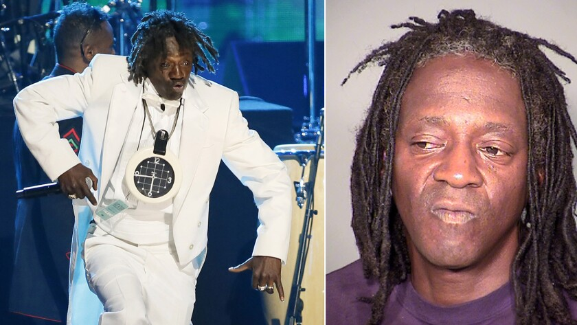 Flavor Flav arrested