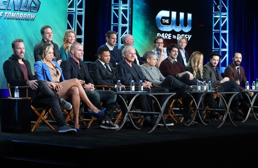DC's Legends of Tomorrow's Cast and Executive Producers