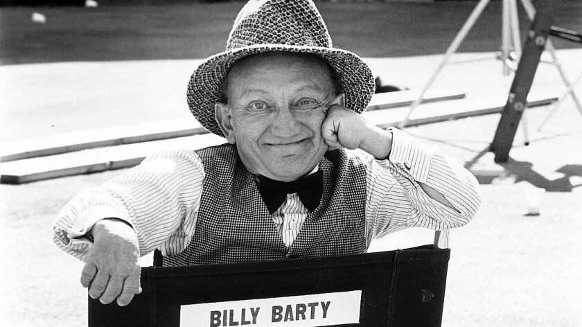 Billy Barty mugs for the camera in a 1978 photo.
