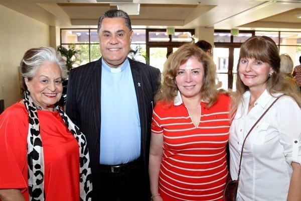 Leila Blackstone, Rev. Boutros Zaour, Wafaa Zaour, Celeste Bailey