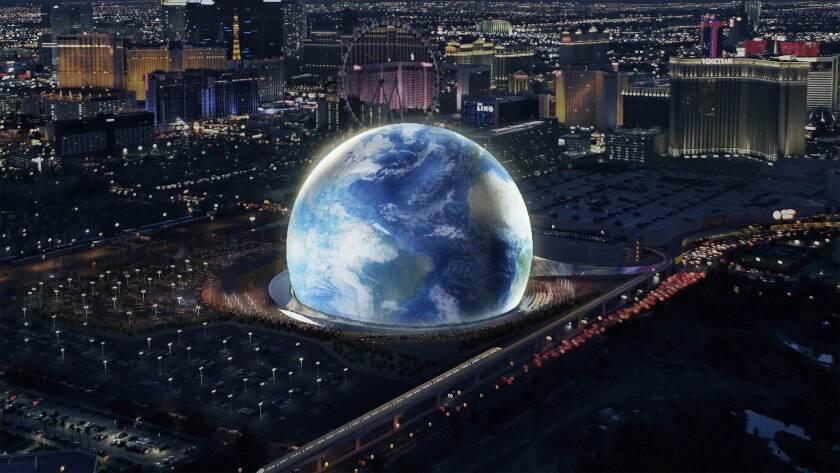 Rendering of MSG Sphere Arena