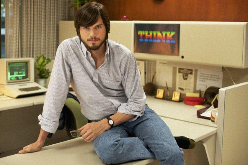 """Ashton Kutcher as Apple wiz Steve Jobs in """"Jobs,"""" which will premiere at the Sundance Film Festival."""