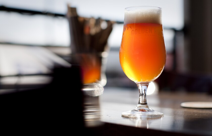 Hangar 24 mixed with GRB Valentin at Golden Road Brewery in Los Angeles.