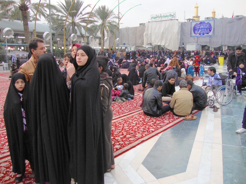 Iraq's holy city of Karbala becomes a haven from sectarian