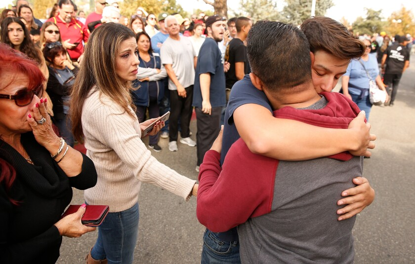 The answer in Santa Clarita school shooting? God, gunshot kits and fire extinguishers as weapons