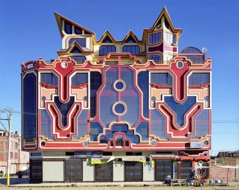 Neo Andina Architecture from El Alto, Bolivia.