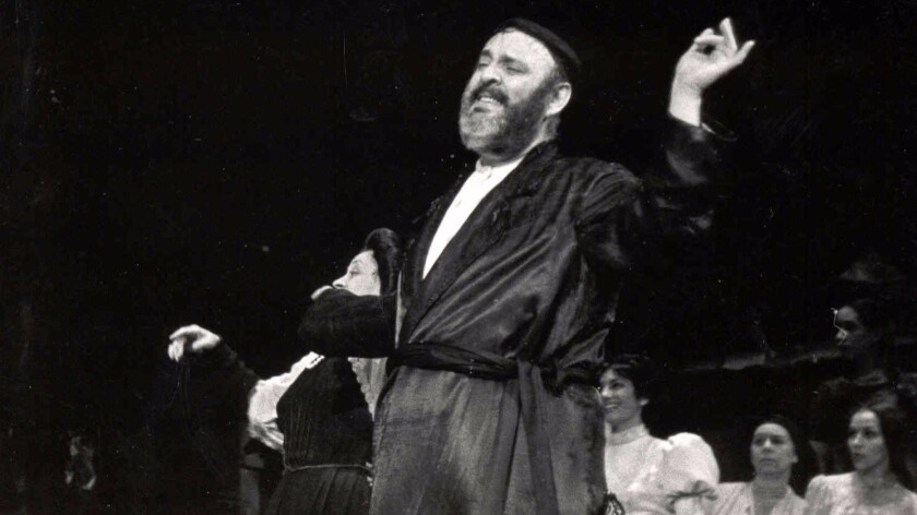 "Zero Mostel played Tevye in the original 1964 Broadway production of ""Fiddler on the Roof."""