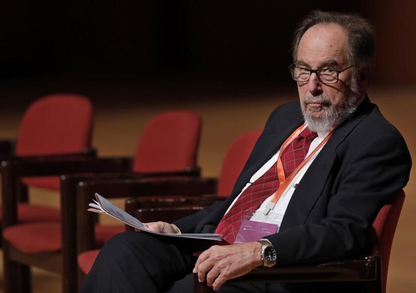 Nobel laureate David Baltimore