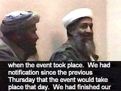 bin Laden video grab 1