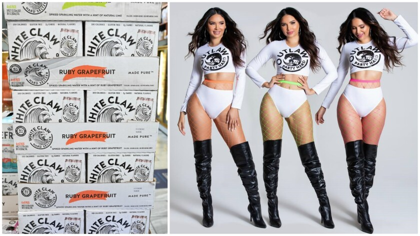 Whiteclaw-inspired Halloween costumes