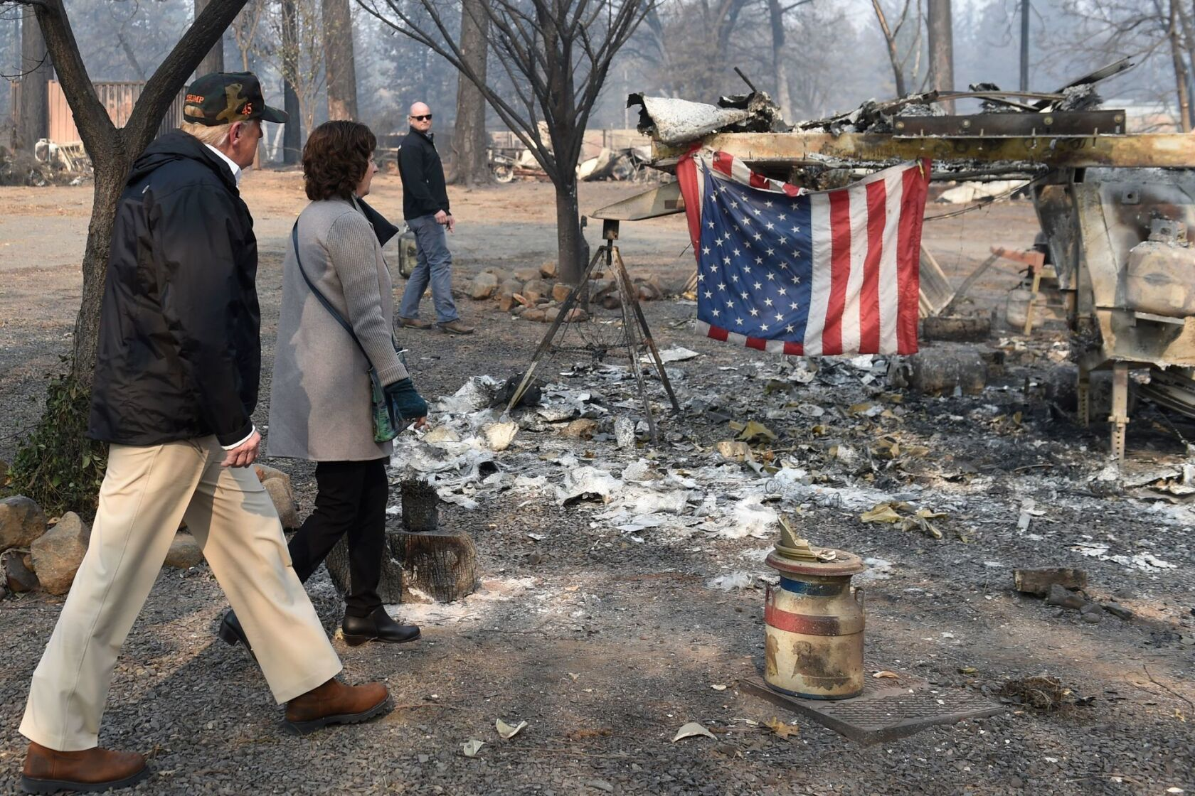 The Camp fire burned homes but left trees standing  The science