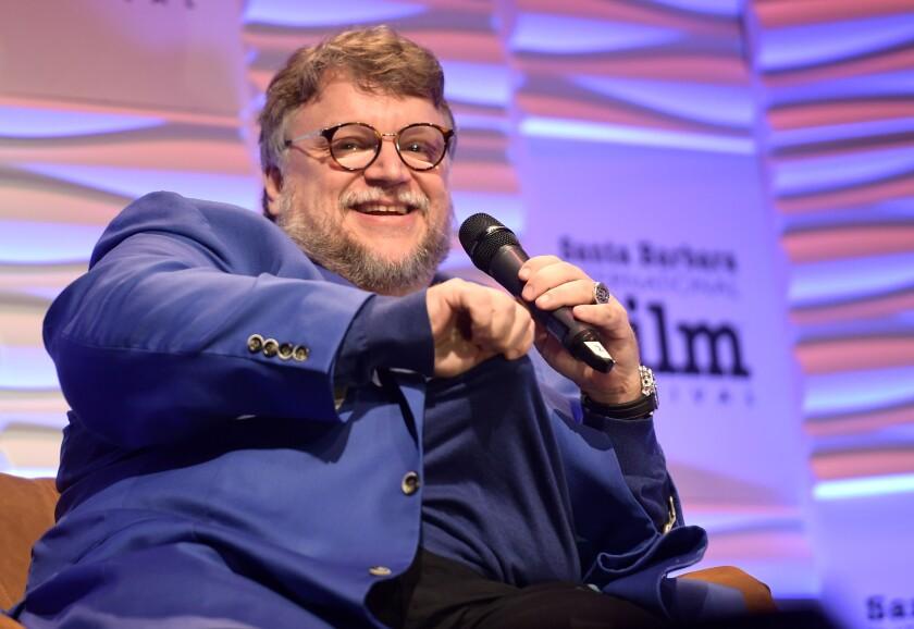 "Guillermo del Toro ofreció una amena charla sobre cómo creó ""Shape of Water""."