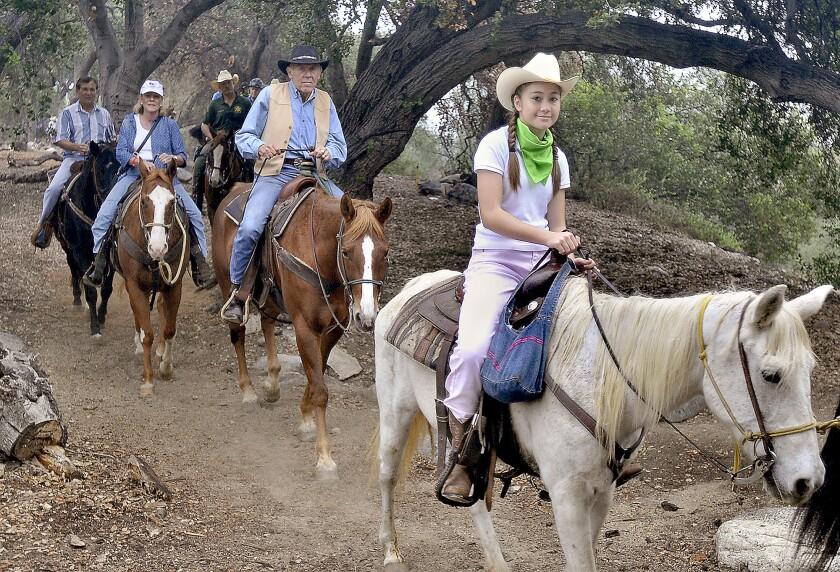 Photo Gallery: LA County Supervisor Michael Antonovich's Trail Duster Ride