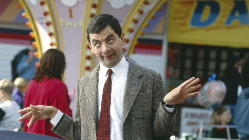 """Rowan Atkinson, who plays""""Mr. Bean,"""" describes the show as being """"broad, simple, accessible stuff,"""" and yet it also makes you work a little."""