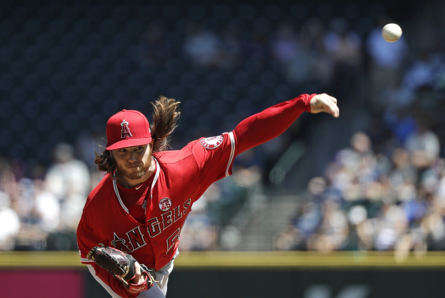 Dillon Peters flashes his promise in Angels' victory over Mariners
