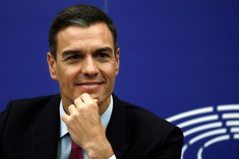 El presidente del Gobierno español, Pedro Sánchez. EFE/Archivo