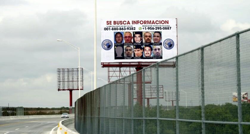 Los anuncios pueden ser vistos desde suelo mexicano y estadounidense.