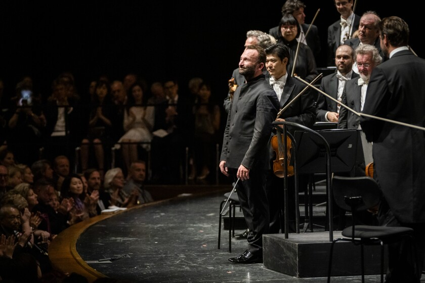 Kirill Petrenko, new music director of the Berlin Philharmonic, at the Salzburg Festival.