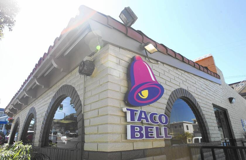 The Taco Bell in Laguna Beach will celebrate its 50-year anniversary Saturday with a free tacos and 19-cent tacos.