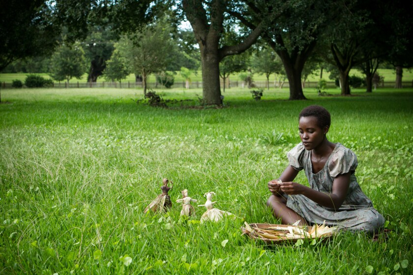 """Nominee Lupita Nyong'o as """"Patsey"""" in the movie """"12 Years a Slave."""""""