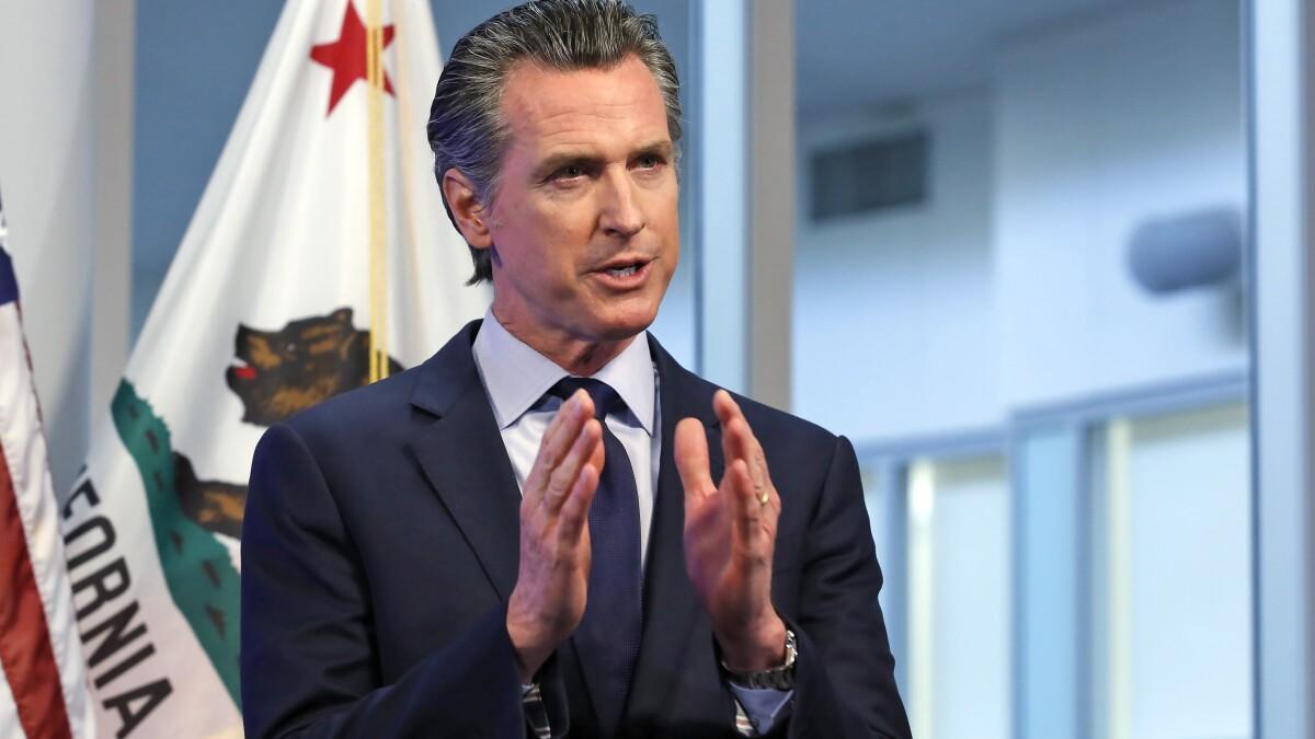 Will a Democrat challenge Newsom in California recall? - Los Angeles Times